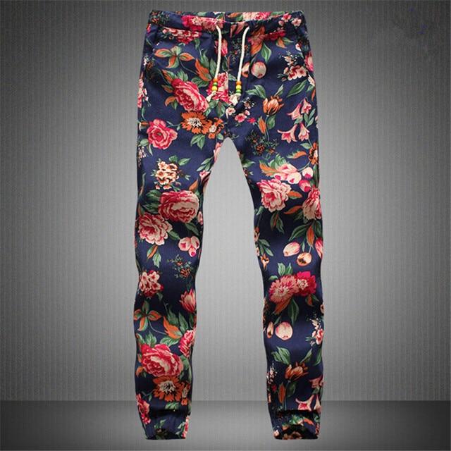 New fashion 2020 Hawaiian Comfortable Leisure Brand High Quality Men Pants Size M - 5 xl casual Mens Joggers 4