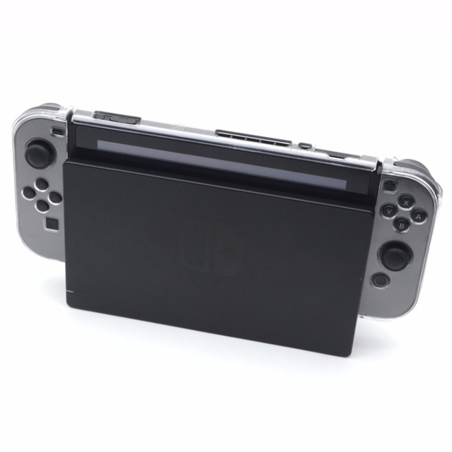 Direct Docking Thin Slim Back hard Split Protective Crystal Cover Case Shell For Nintend Swtich NS/X Joy-Con Controller Gamepad