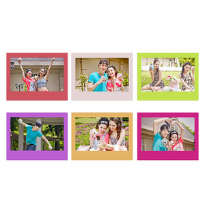 Image 2 - Genuine Fujifilm Instax Wide Film Rainbow 20 Sheets Photo Paper For Fuji Instant Camera 300 / 200 / 210 / 100 / 500AF