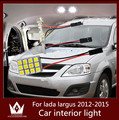 Guang Dian Car veículos Interior mapa Dome porta Kit PackageT10 festoon para lada largus 2012 - 2015