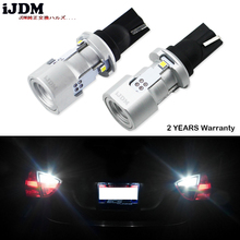 цены iJDM CAN-bus Error Free W16W LED 912 921 T15 LED Bulbs For Cars Audi BMW Mercedes Porsche Volkswagen For Backup Reverse Lights