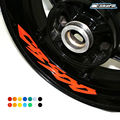 8 X CUSTOM INNER RIM DECALS WHEEL Reflective STICKERS STRIPES FIT HONDA CB 500