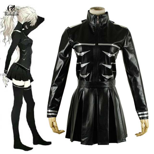 Rolecos Black Hot Japanese Anime Cartoon Character Tokyo Ghoul