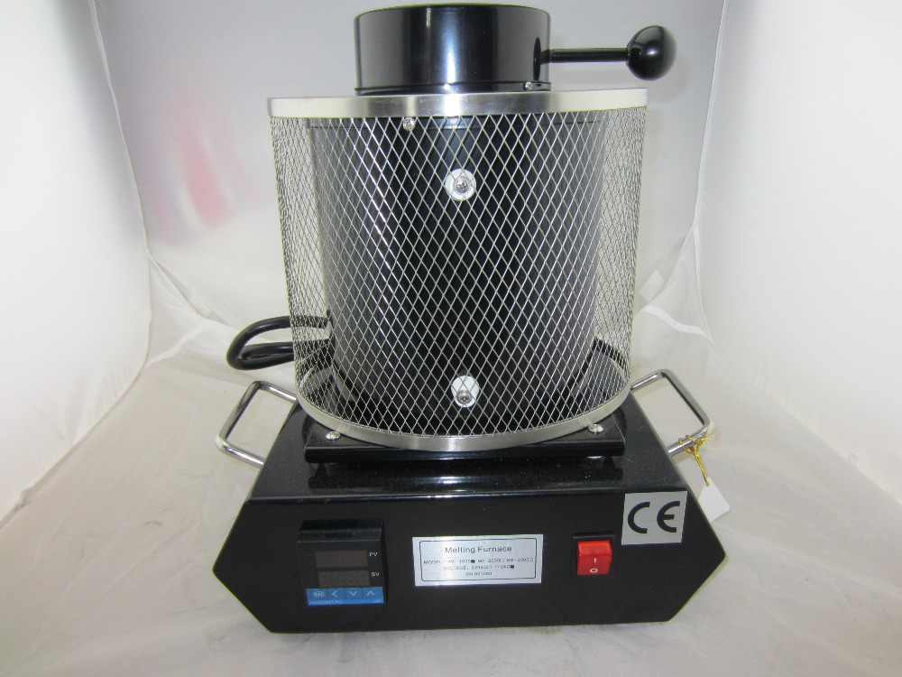 220V mini gold Melting Furnaces,smelting Gold Melting Furnace with 3KG Graphite Crucible joyeria 3kg keer graphite melting crucible high pure graphite crucible for melting gold and silver machine