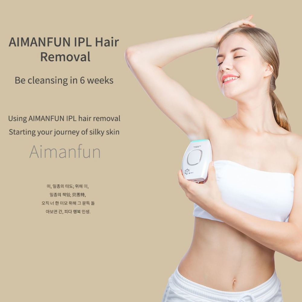 Professional Permanent IPL Laser Epilator Body Hair Removal