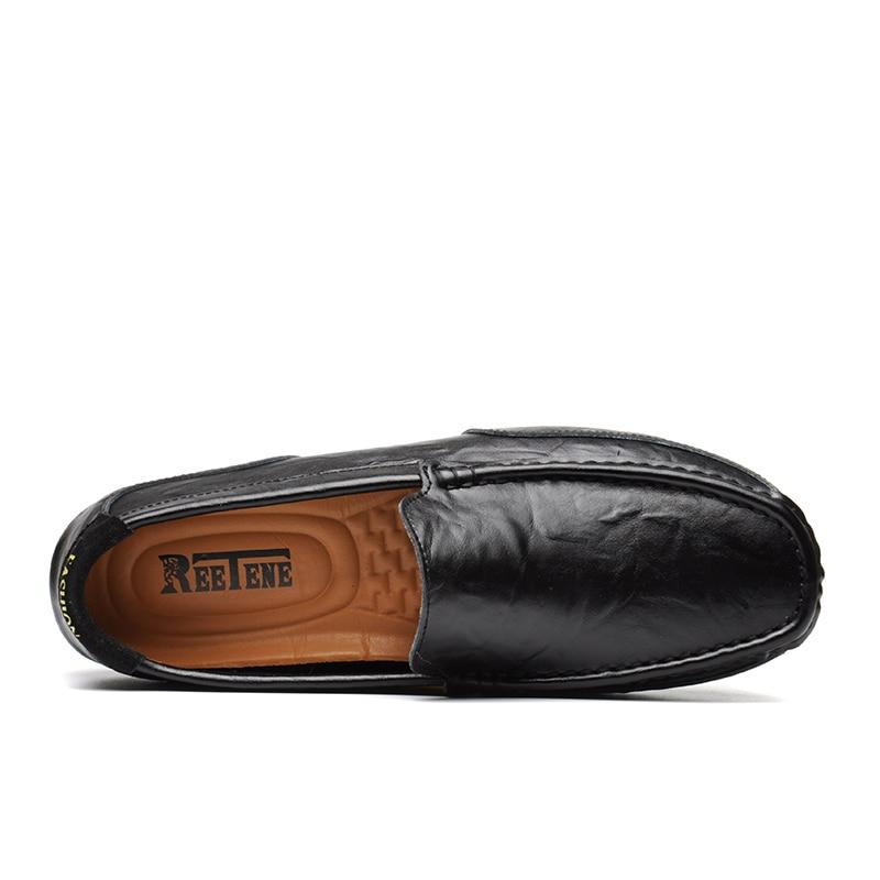 De Gommino blue Reetene Occasionnels Marque Black Véritable Qualité Haute Cuir Chaussures Appartements Doux yellow Mocassins Conduite Hommes Mode white 7bvfgY6y
