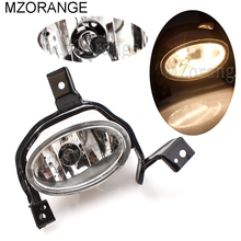 цена на MZORANGE Fog Light Fog Lamp Halogen Bulb For Honda For CRV CR-V 2010 2011 fog lamps Front Bumper Fog Lights Driving Lamps