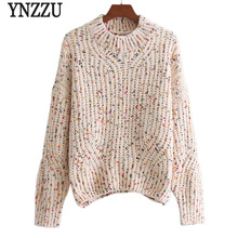 YNZZU Knitted Women Sweaters and Pullovers 2018 Spring Long Sleeve Loose  Casual 7cb487ee2