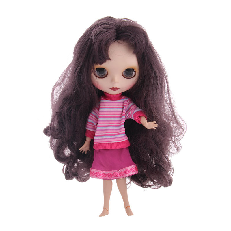 Blyth Doll Dress Best Premium Dress For Blyth Doll Clothes Christmas Gift Toy Dress For <font><b>BJD</b></font> Doll 1/6 30 Cm Doll Toy Gift image
