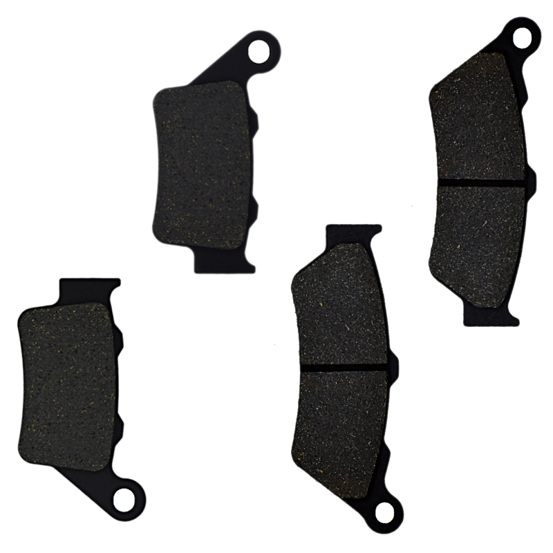 For BMW G 650 G650 Xchallenge/Xcountry 2007 2008 2009 F 800 F800 GS F800GS Trophy 2012 Motorcycle Brake Pads Front Rear(China)
