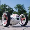 Frete Grátis Bounce Carros RC 4CH 2.4 GHz Forte Saltando de Sumô RC Carro de Controle Remoto do Robô Carro com Rodas Flexíveis para presentes