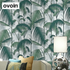 Tropical Palm Jungle Wallpaper For Bedroom Walls Tree Leaf Print Wall Paper Modern Home Decor Living