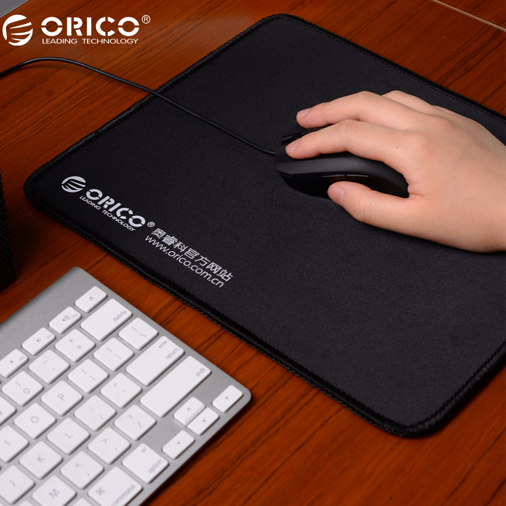 лучшая цена ORICO MPS3025 Large Gaming Mouse Pad Locking Edge Mouse Mat Speed/Control Natural Rubber Cloth Home Office Game Mouse Pad