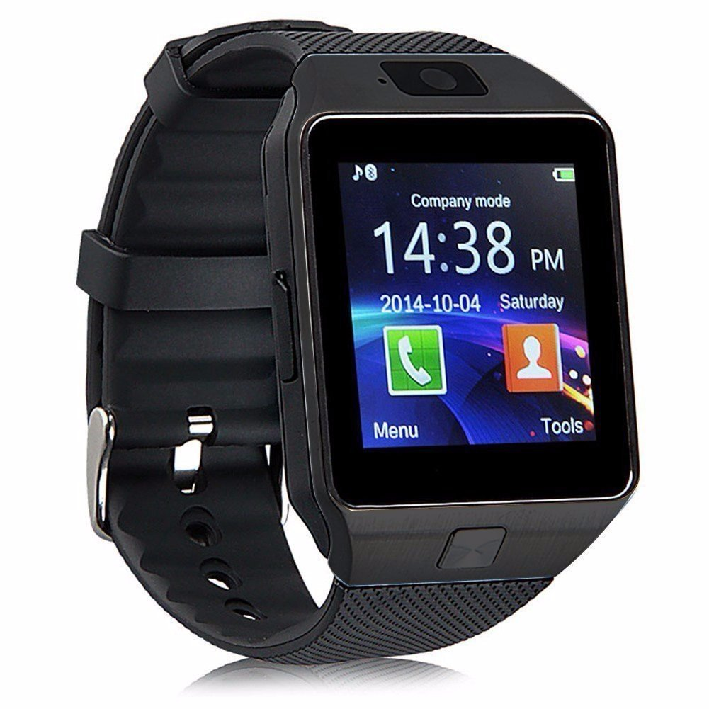 Bluetooth Smart Watch DZ09 Smartwatch Watch Phone Support SIM TF Card with Camera for Android IOS Phones