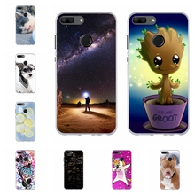 For Huawei Honor 9 Lite Cover Soft TPU AL00 AL10 TL10 Case Fashion Pattern Youth Capa