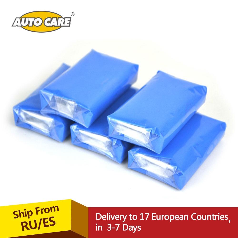 Auto Care 5pcs100g Magic Car truck Clean Clay Bar Auto Detailing Cleaner Car Washer Blue