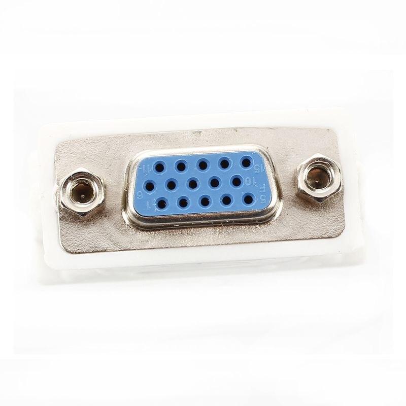 Image 3 - DVI мужской адаптер (DVI D 24 1) к женскому VGA (15 pin)