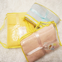 New 2015 Baby Blanket 90X120cm 100x140cm 100 Cotton Crochet Newborn Bedclothes Girl Boy Swaddle Blankets Kid