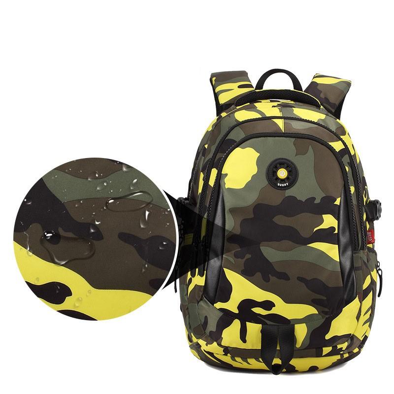 80729d8617 TANGIMP Kids Backpack School Bags Unisex Travel Mochila escolar Cool  Backpacks Bags for Boys Girls Teenager 3 Size Camouflage
