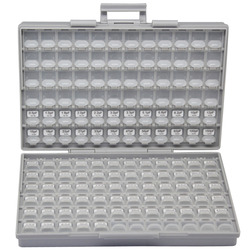 AideTek SMD 1206 Capacitor box  Kits up to 22uF 89V x 50pcs X7R NPO Distributed assorted capacitor organizzation storage C1250