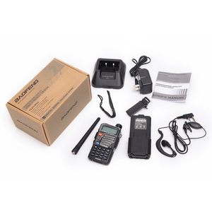 Image 5 - BAOFENG UV 5RE 8W powerful Walkie Talkie 3800mAh 10km long range uhf vhf Band portable cb ham radio Upgrade of UV5RE for hiking