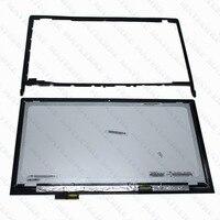 Для lenovo Edge2 15 край 2 1580 80QF 15,6 ноутбук ЖК LP156WF6. SPK1 Сенсорный экран в сборе с рамкой