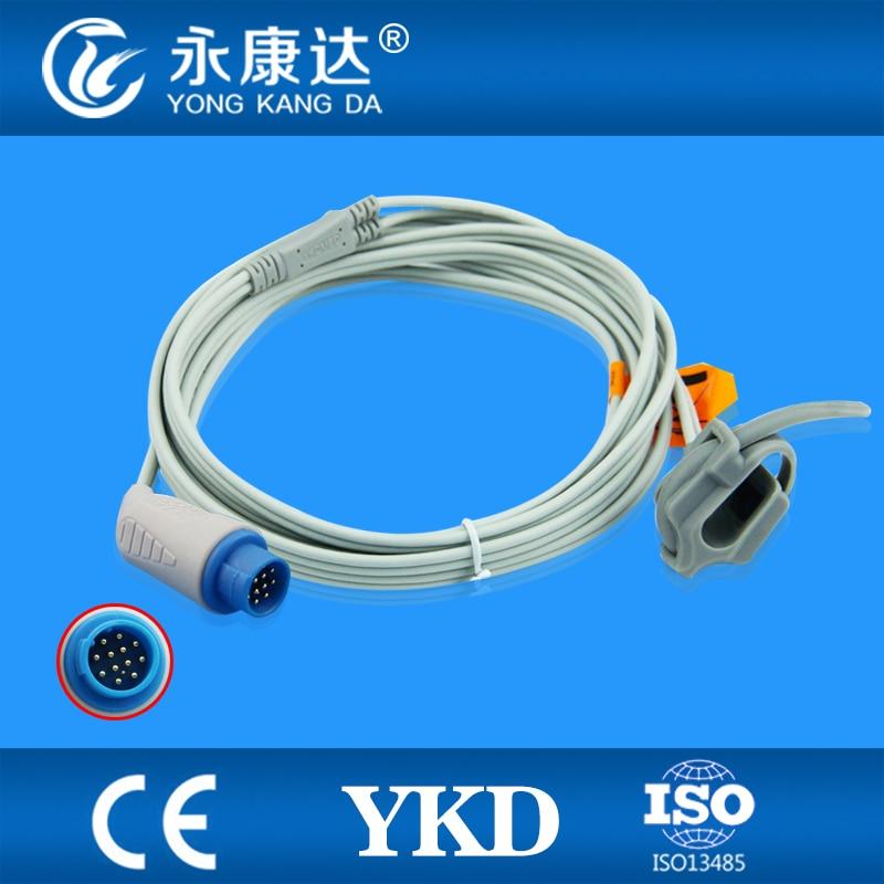 ФОТО Compatible mennen(nellcor) medical neonate wrap  SpO2 Sensor 3m,13pins,TPU