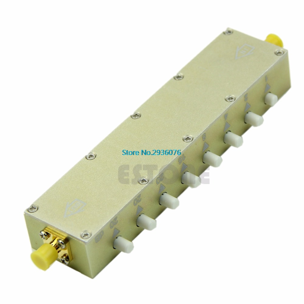 Adjustable Key-Press Press Variable Attenuator 5W DC-2.5Ghz 0-90dB 8-key резистор kiwame 5w 51 0 kohm