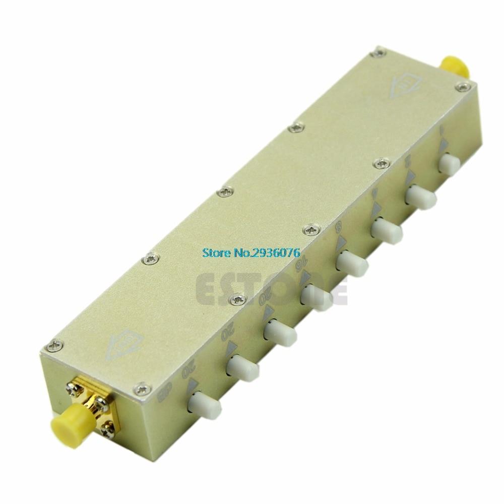 Adjustable Key-Press Press Variable Attenuator 5W DC-2.5Ghz 0-90dB 8-key цена