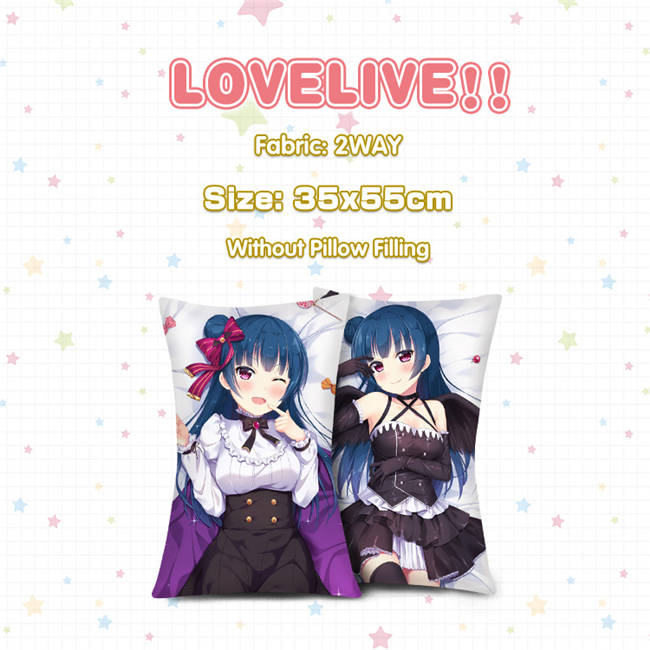 Love Live Dakimakura Yoshiko Tsushima Anime Girl Hugging Body Pillow Case Cover