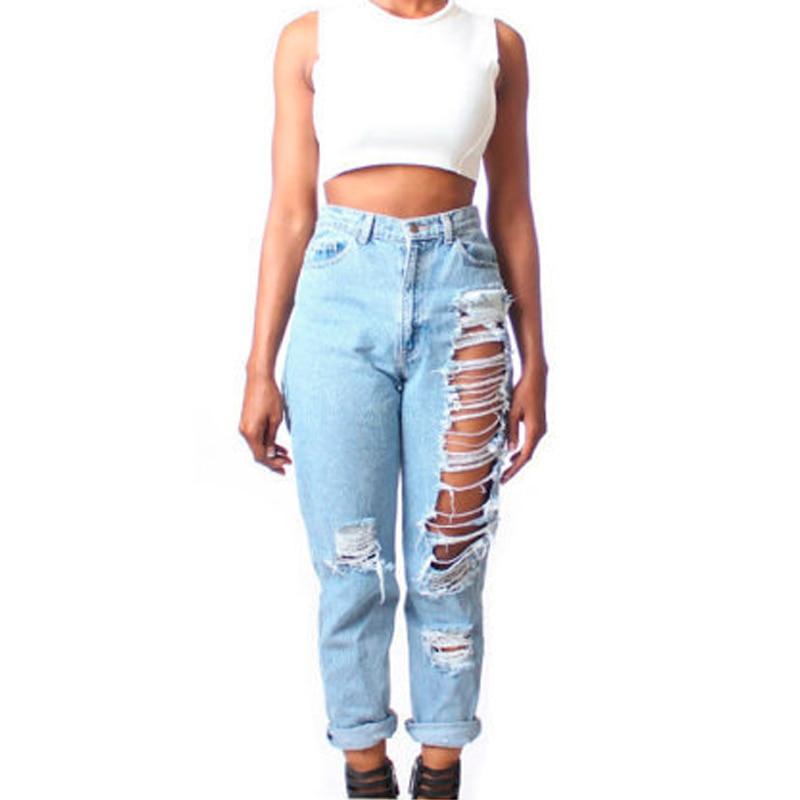 aliexpresscom buy sexemara 4xl plus size ripped jeans