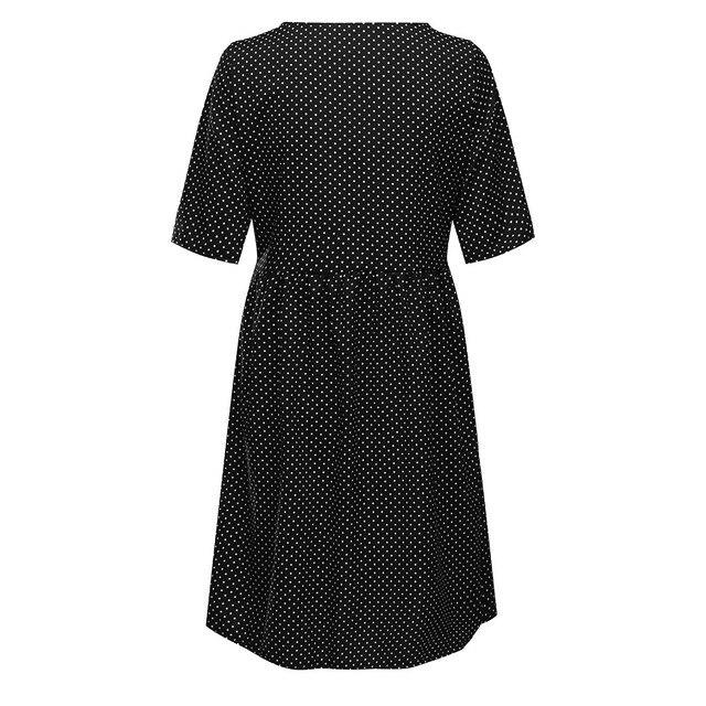 Maternity Nursing Solid Breastfeeding Dress 4