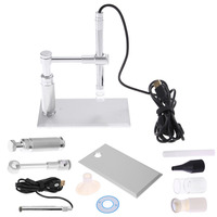 High Power Digital Image Monarch Processor 500X 8LED 2MP USB Digital Microscope PCB Inspection Camera Endoscope