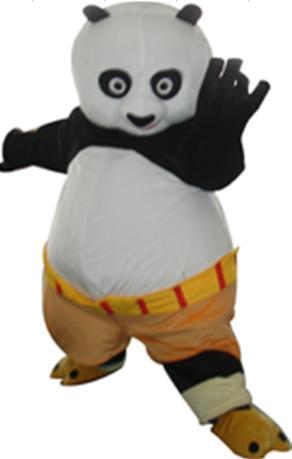 Costume de mascotte adulte de haute qualité Kung Fu Panda Kung Fu Panda costume de mascotte déguisement livraison gratuite