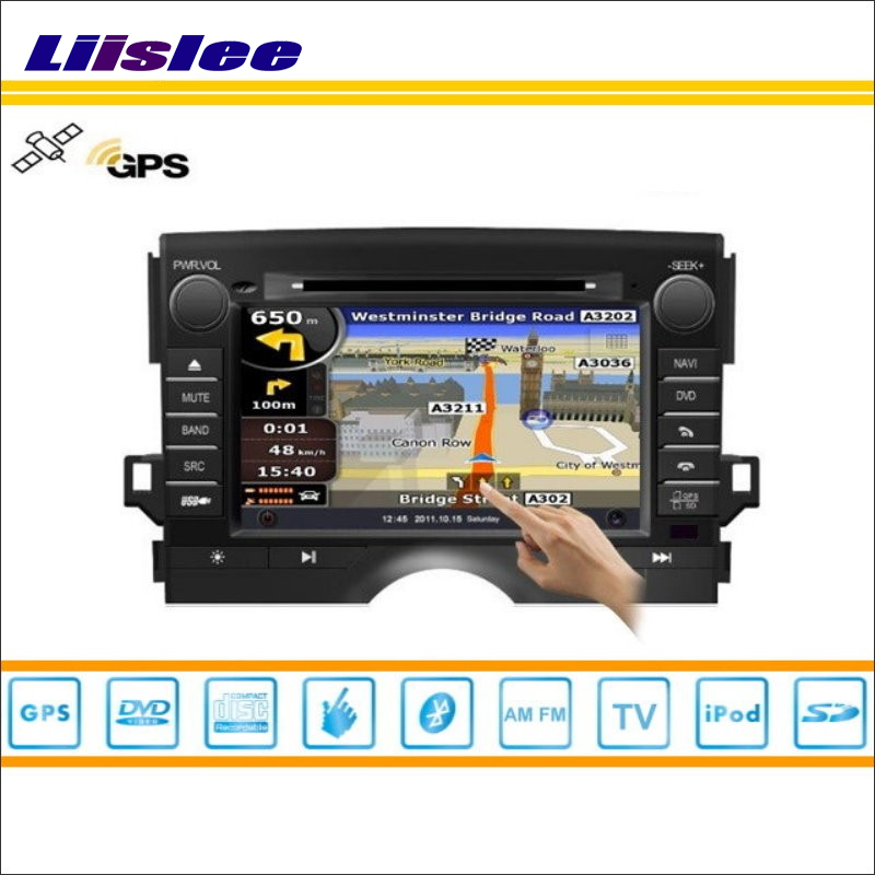 Liislee For Toyota Mark X 2009~2015 Car DVD Player GPS Nav Map Navigation Radio Stereo CD TV iPod BT HD Screen Multimedia System