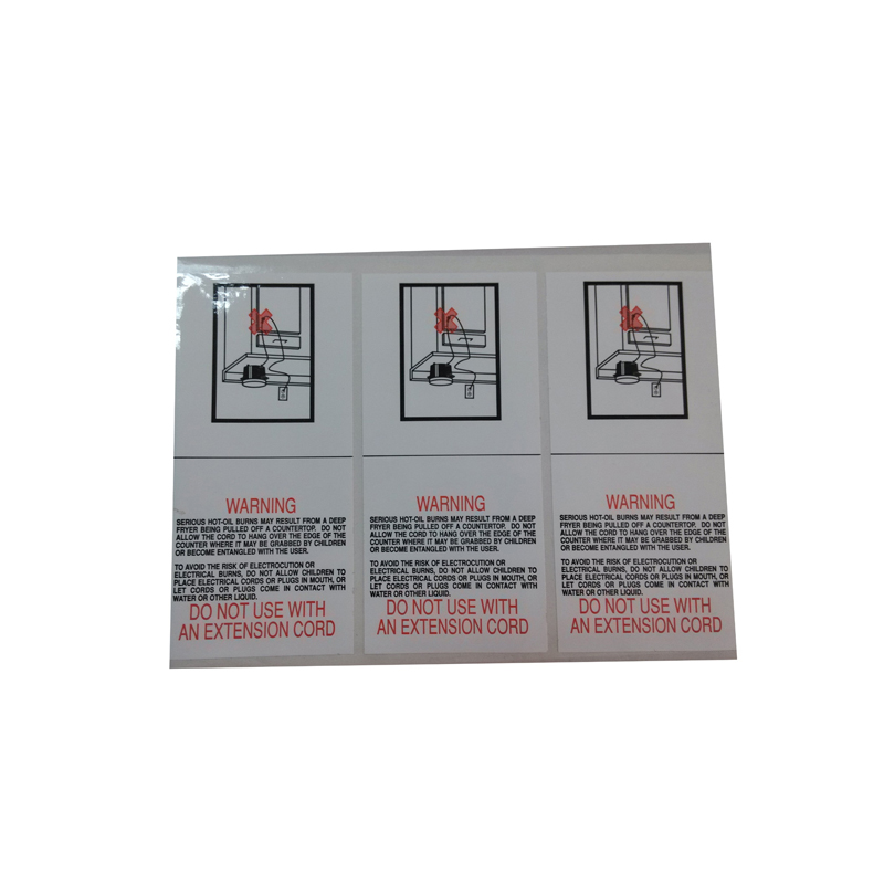 Customized high quality roll adhesive label sticker for