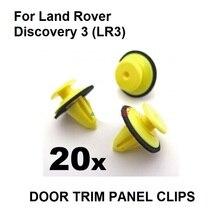 20x Per Land Rover Discovery 3 (LR3) Esterno Parabrezza rivestimento del Montante Clip, oe # DYC 500020/DZM 000070