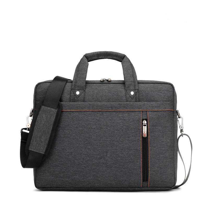 Lyx vattentät Märke Laptop väska 17,3 tum av kvinnor 13,3 14 15 15,6 17 Axel bärbar Messenger män bärbar väska