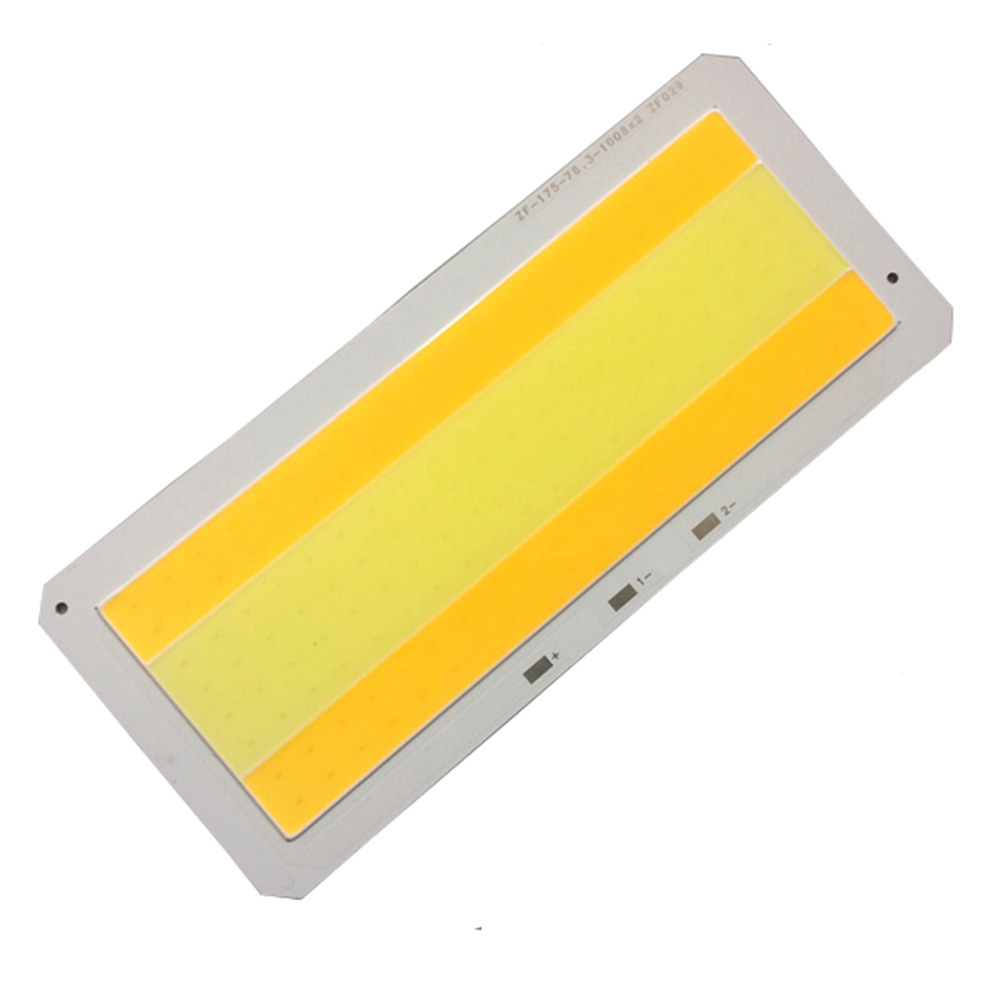 DC33V 80W COB LED Strip Lights Bulb Lamp Dimming Pure Warm White + White 2000MA for DIY 175*76.3MM Wholesale factory outlet 1pc