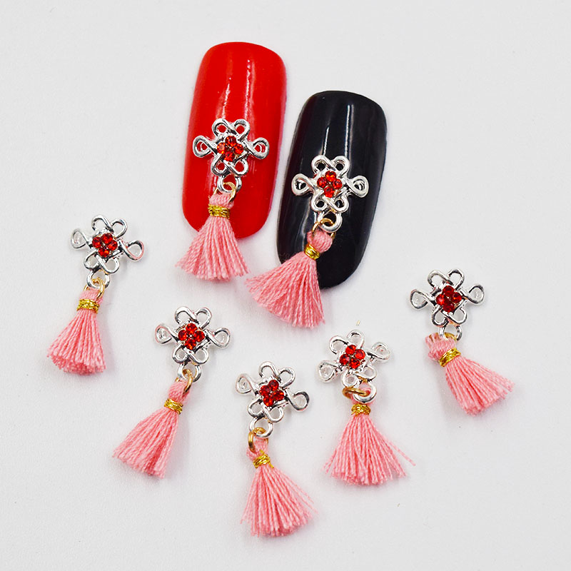 Beleshiny 10psc New  White pearls  3D Nail Art Decorations,Alloy Nail Charms,Nails Rhinestones  Nail Supplies #595