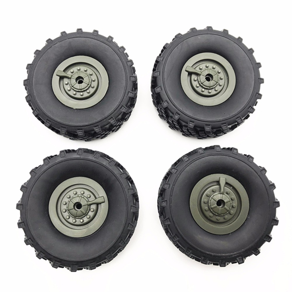 4 Pcs Upgrade Tires WPL B36 Remote Control RC Truck Crawler Car Assembled Tyre For 4X4 Pickup-truck Parts & Accessories For B36
