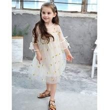 Oklady 2019 платье для девочек повседневное летнее популярное