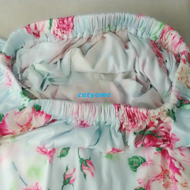 Maternity Swimwear Women Off Shoulder Floral Pregnancy Swimsuit Suits Beachwear Bikini Bathing Clothing For Pregnant Bodysuits (15)