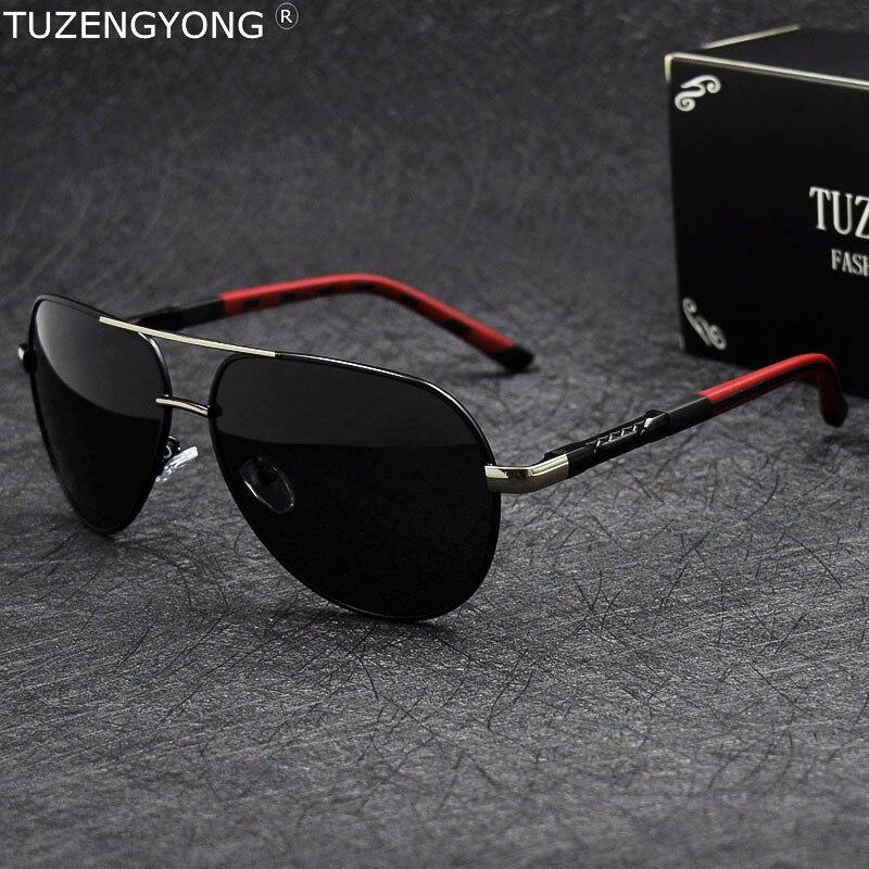 0fef7db2c00 Aluminum magnesium Men s Polarized Sunglasses Classic Pilot Sun Glasses  Coating Lens Eyewear Accessories for Men gafas