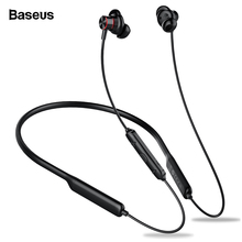 Baseus S12 Bluetooth Earphone Headphone For Phone Bluetooth 5.0 Neckband Wireless Earphones Bass Headset fone de ouvido With Mic