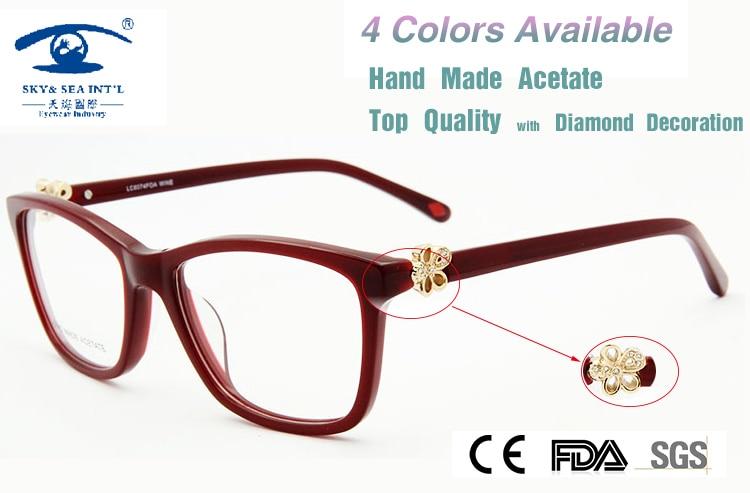 655e2e503cad6 New 2015 Brand Design in London armacao de oculos de grau feminino Luxury  Eye Glass Myopia Glasses Women