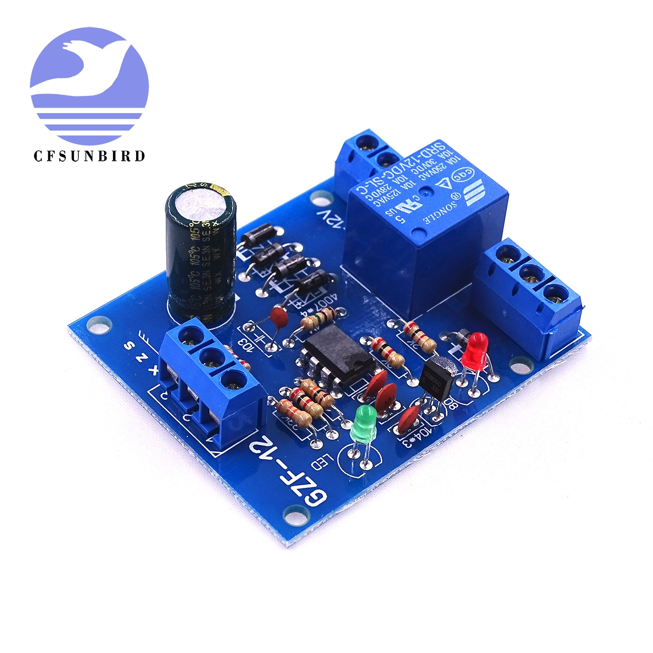Electronic Components & Supplies 1 Pcs/lot Cfsunbird Liquid Level Controller Sensor Module Water Level Detection Sensor Electronic Components
