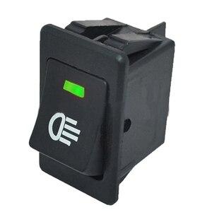 Image 3 - 4 sztuk 12V 35A uniwersalny światło przeciwmgielne samochodu przełącznik kołyskowy LED Dash Dashboard 4Pin