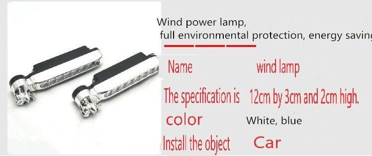 2pcs 8 x LED Automotive grid personality wireless wind lamp styling. for BMW X1 X3 X5 X6 X4 M3 M4 M5 M6 325 328 F10 F30 F35 F10