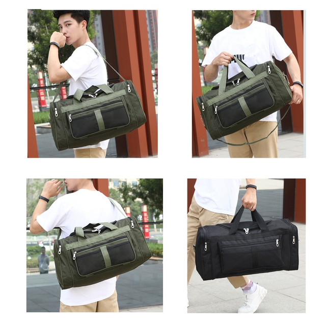 Nylon Luggage Gym Bags Outdoor Bag Large Traveling Tas For Women Men Travel Dufflel Sac De Sport Handbags Sack Bag 6